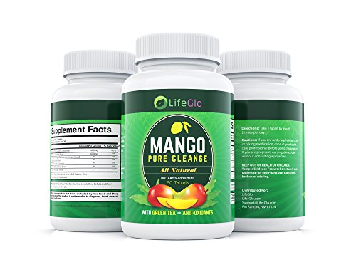 Mango Pure Cleanse- 100% Natural African Mango Extract Dietary Supplement 60 Tablets