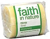 Faith In Nature Pure Vegetable Soap. Hanf und Grüner Tee Seife. 100g Stück