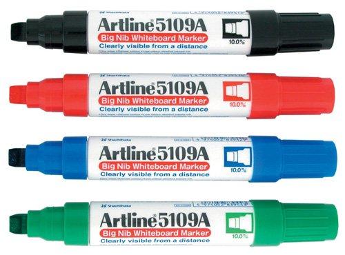 (Artline 5109A Big Nib Whiteboard Marker - Blue (Pack of)