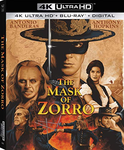 The Mask of Zorro [4K Ultra HD + Blu-ray + Digital]