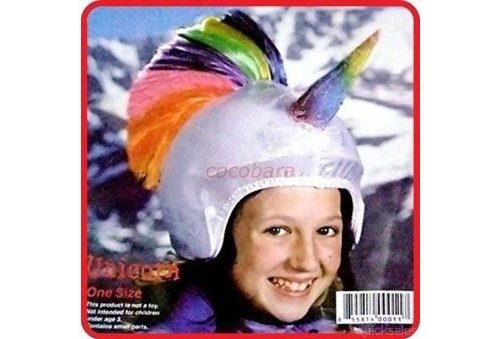Bike Helmet Cover - Multisport Helmet Cover - Unicorn