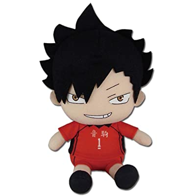"Great Eastern Entertainment Haikyu!! S2- Kuroo Sitting Pose 6"" Plush: Toys & Games"