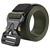 2 Pack Men Tactical Belt
