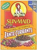 Sun Maid Zante Currants, No Sugar Added, 10 oz (Pack of 1)