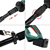 """DOEWORKS 20V Li-ion 2 in 1 Multi-Angle Cordless Electric Pole Hedge Trimmer, 20"""" Blade - Battery & Charger Included"""
