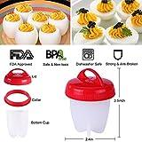 Yeahbeer-EGG001-Egg-Cooker-Hard-and-Soft-MakeNon-Stick-SiliconeNo-ShellBoiledPoacher-Steamer-AS-Seen-on-TV6-Pack-10