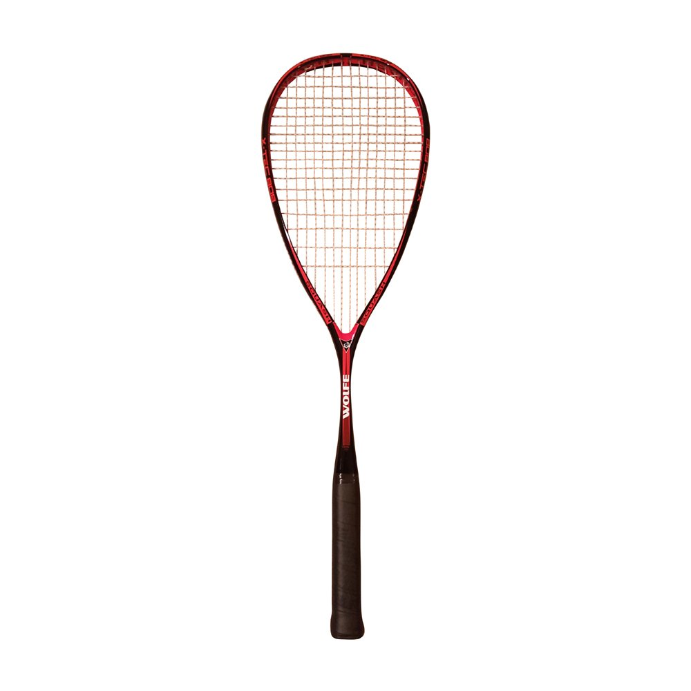 "Wolfe Graphite Squash Racquet ""X-Tec 808"" 140 Grams ( One Size, PreStrung with Bag )"