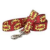 Yellow Dog Design Kapow Dog Leash 3/8'' Wide and 5' (60'') Long, X-Large