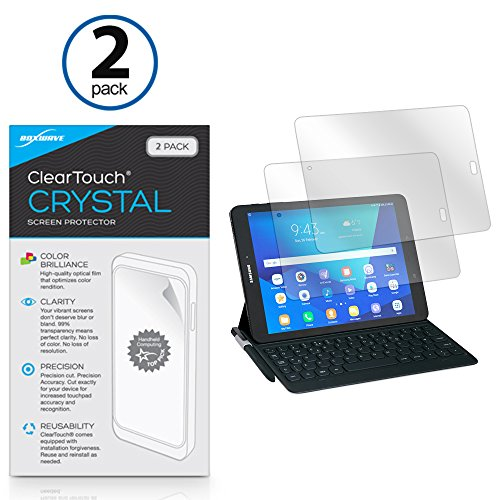 - Samsung Galaxy Book (10.6 in) Screen Protector, BoxWave [ClearTouch Crystal (2-Pack)] HD Film Skin - Shields from Scratches for Samsung Galaxy Book (10.6 in)