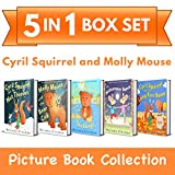 Cyril Squirrel and Molly Mouse Picture Book Collection: 5-in-1 Box Set of Rhyming Bedtime Stories (for ages 3-6) (Top of the Wardrobe Gang Box Sets 1)