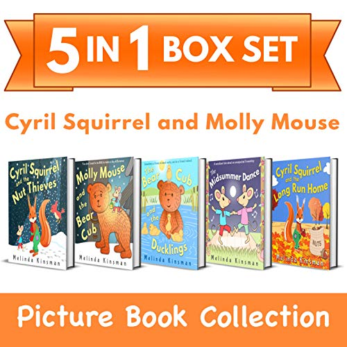Cyril Squirrel and Molly Mouse Picture Book Collection: 5-in-1 Box Set of Rhyming Bedtime Stories (for ages 3-6) (Top of the Wardrobe Gang Box Sets 1) ()