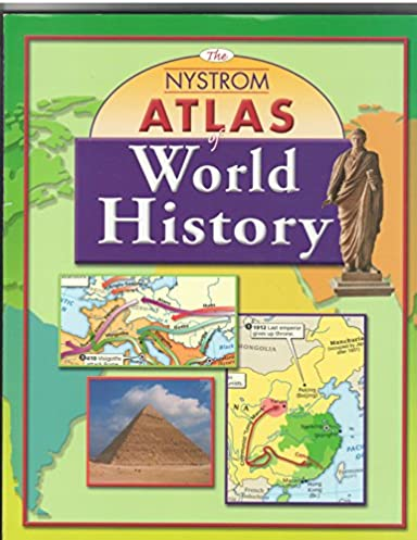 the nystrom atlas of world history by 2003 01 31 n a rh amazon com