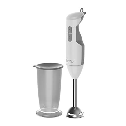 Oster Versatile Turbo Function Stick Mixer Hand Blender - 250 Watt - Turbo function - Stainless Steel Shaft and Blade - FPSTHB2610W
