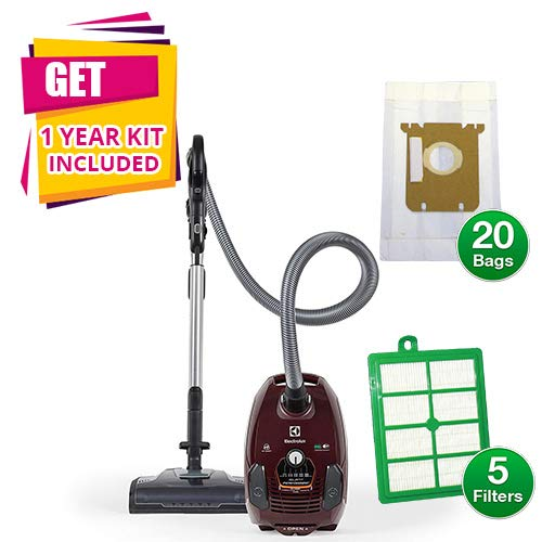 Electrolux Bagged Vacuum EL4015A Silent Performer Canister with Kit (Canister Vacuum w/Kit)