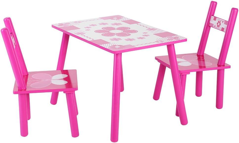 Yosoo Philadelphia Mall Kids Table and Set Many popular brands Childrens Chair Wooden