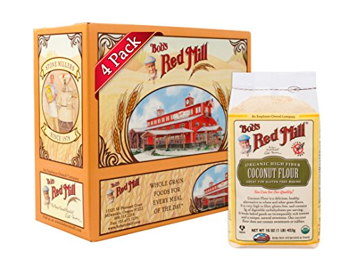 Price comparison product image Bob's Red Mill Organic Coconut Flour,  16 Ounce (Pack of 4)