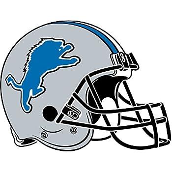skyhighprint - Detroit Lions NFL Football Sport Decor Vinyl Print Sticker 14'' X 10''