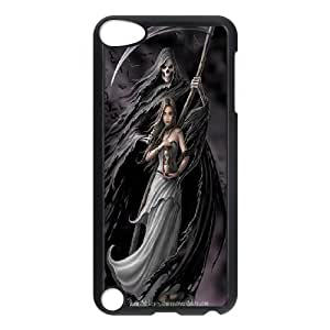High Quality {YUXUAN-LARA CASE}Santa Muerte FOR Ipod Touch 5 STYLE-7