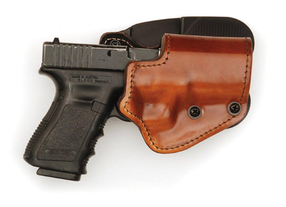 Mako Funda de 3Capas marrón (Piel/Funda Kydex/Forro de Gamuza) versión–Paleta para Colt 1911Mano Pistola, Unisex, marrón Front Line The Mako Group LKCxxP