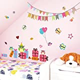 lovely owlets cartoon wall stickers birthday party decor home decals owls cartoon animal