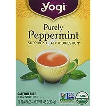 Yogi Herbal Tea Bags, Purely Peppermint 16 ea