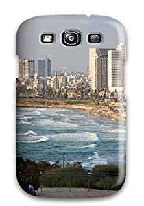 New Tpu Hard Case Premium Galaxy S3 Skin Case Cover(tel Aviv City )