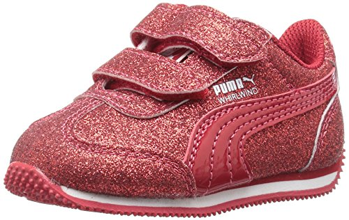 US Toreador Little Girls PUMA Velcro Kid Whirlwind Glitz Toreador M Sneaker 2 pUxR7qzw