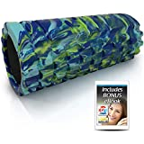 321 STRONG Foam Roller - Medium Density Deep Tissue Massager for Muscle Massage and Myofascial Trigger Point Release…