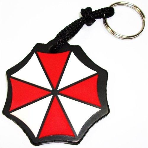 Chaveiro Emborrachado Resident Evil Umbrella