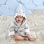 Baby-Aspen-Hooded-Shark-RobeLet-The-Fin-Begin-Ultra-Soft-Gray-Cotton-Terry-ToddlerBaby-Boy-Towel