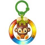 Bright Starts Shake and Glow Monkey Toy
