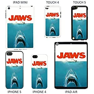 Classic Movie Poster Cover case for Apple iPod Touch 5th Generation - A1278 - Jaws - White by Accessories4Life