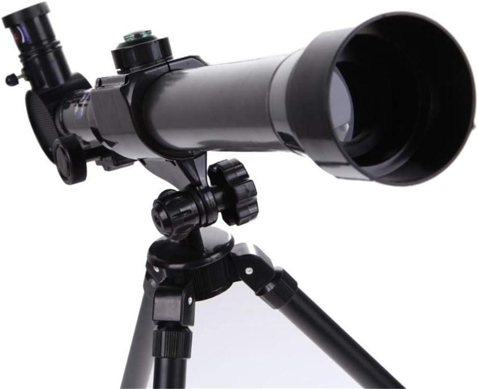 Uyuke 20X 30X 40X Refractor Telescopio astron/ómico para ni/ños Combo de microscopio