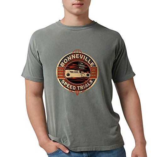 CafePress - BONNEVILLE SALT FLAT TRIBUTE T-Shirt - Mens Comfort Colors Shirt