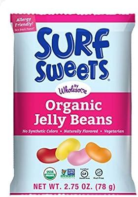 Amazon.com : Surf Sweets Organic Jelly Beans, Nut Free, Gluten Free ...