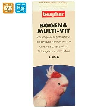 Beaphar Bogena multivitaminas para loros y periquitos ...