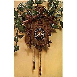 Vintage Advertising Postcard: Cuckoo Clock Planter Des Moines, Iowa