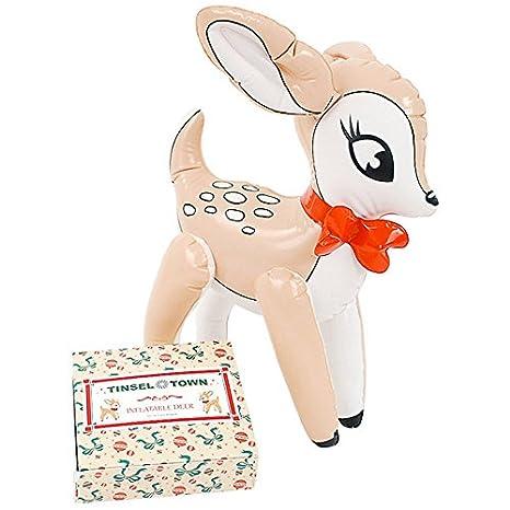 Amazon.com: Reno de Navidad inflable de 14 inch, estilo ...