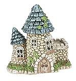 """Ganz 5.75"""" Fairy/Miniature Garden Light Up Fairy Tower House"""