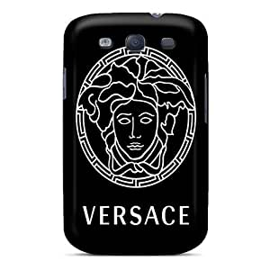 Galaxy S3 Cases Covers - Slim Fit Tpu Protector Shock Absorbent Cases (versace)