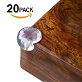 AFIIT- Clear Corner Guards Clear Corner Furniture Protectors Baby Proofing from Furniture Sharp Edges Child Safety Corner Cushions Bumper Head Injury Protection Quick Easy to Use Pre-Stick Adhesive