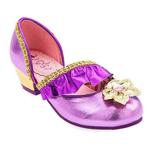 Disney Rapunzel Costume Shoes for Kids - Tangled Size 11/12 YTH Multi]()