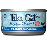 Cheap Tiki Cat Aloha Friends – 3 Oz. Can 12 Tr – Tuna Tilapia Pumpkin, 1 Pack, One Size