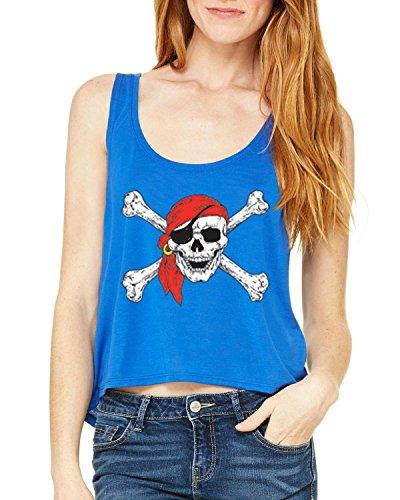 Mom's Favorite Christmas Tank Top Jolly Roger Skull Crossbones Halloween Ugly Sweater Xmas Party Womens Tops Boxy