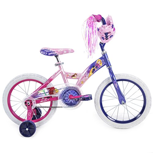 Girls 16 inch Huffy Disney Princess Bike
