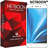 NETBOON® Original Vivo V3 Max Tempered Glass Screen Protector - Anti Explosion, Crystal Clear Screen Guard, Anti-Scratch Screen Protector, Shatterproof, Bubble-free, Oleophobic Coating, 2.5D Round Edge - 9H Hardness Protect Mobile Screen from Dust, Bumps, Scratches, Dirt or any unwanted wear and tear
