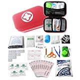 First Aid Kit Survival Kit 19 in 1 Emergency Survival Kit Gear Medical Supplies Trauma Bag Safety First Aid Kit for Emergency Home Outdoors Car Camping Hiking