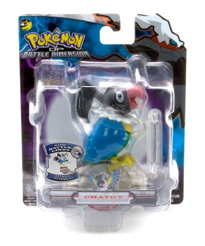 (Chatot - Jakks Pacific Pokemon Diamond and Pearl Battle Dimension Basic Battle Links Figure Series 8)