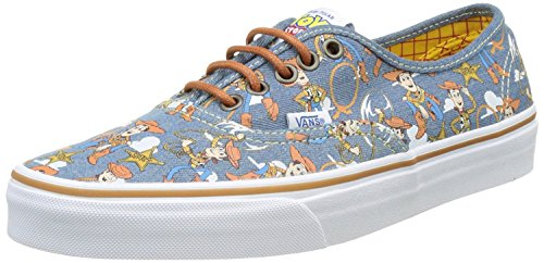 Vans Authentic Toy Story Woody Womens Trainers - Authentic Cheap Vans
