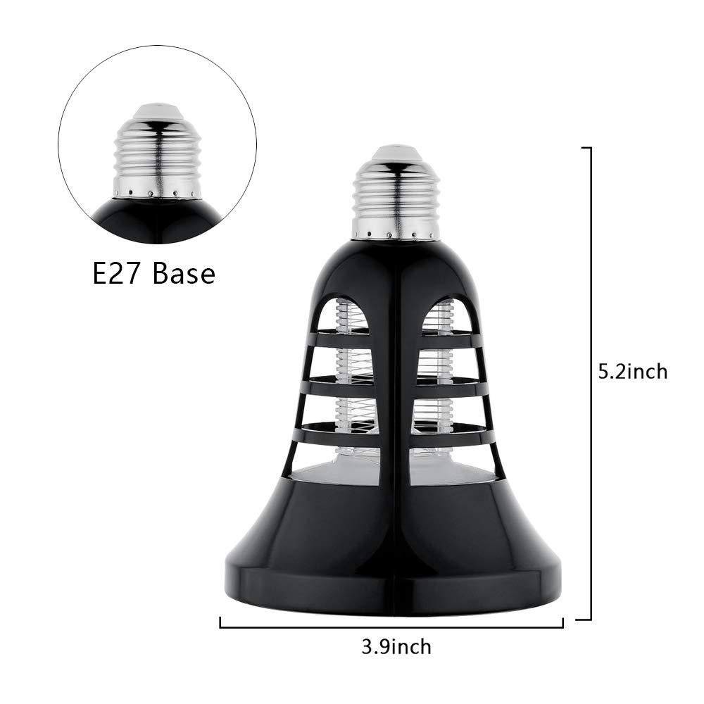 2-en-1 Bug Zapper Ampoules E27 /électrique Mosquito Fly Killer 8 W 220 V Blanc froid 500 Lumen Mosquito UV Lampe pour la maison cuisine jardin Garage patio porche Ahevo Mosquito Killer